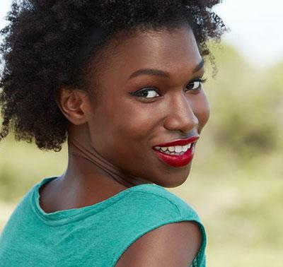 exemple de maquillage pour une peau noire